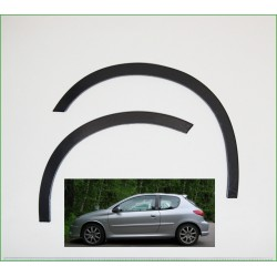 PEUGEOT 206 year '98-12 wheel arch trims